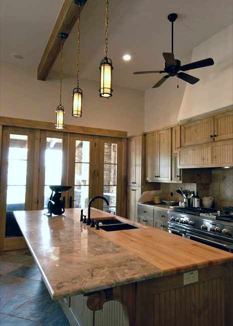 Natural stone is the natural choice for kitchen countertops - Marble chopping block ...
